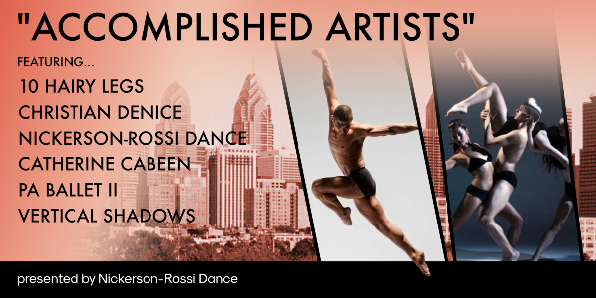 Accomplished Artists presented by Nickerson-Rossi Dance