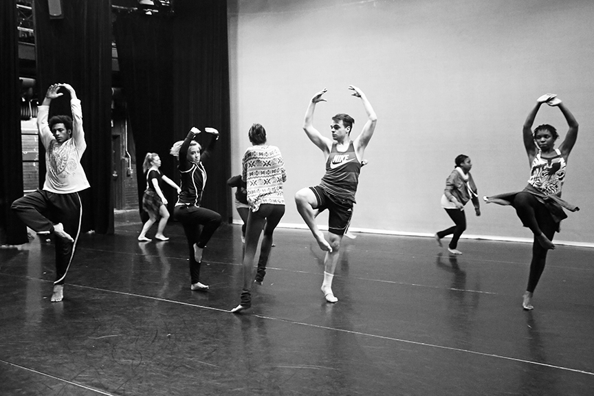 Choreography by Andrea Miller, Photo by Bill Hebert