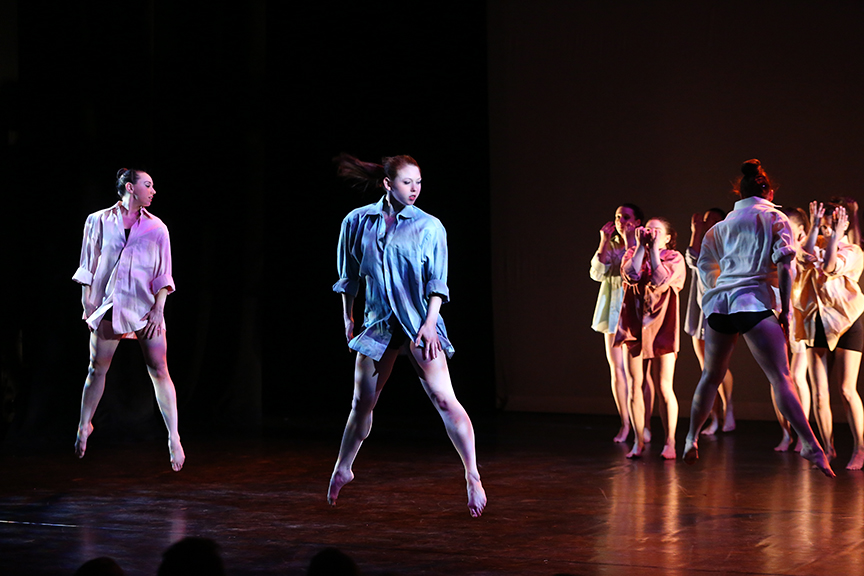 Choreography by Amy Harding, Lighting by Troy A Martin-O'shia, Photo by Bill Hebert