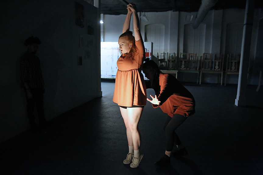 Choreography by Arianna Bickle, Photo by Bill Hebert
