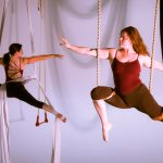 Vertical dance and circus drama: Tangle peers beneath Surface Tension in FringeArts Festival