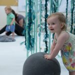 Homeworld, a performance installation for babies and their caregivers, Oct 5-14